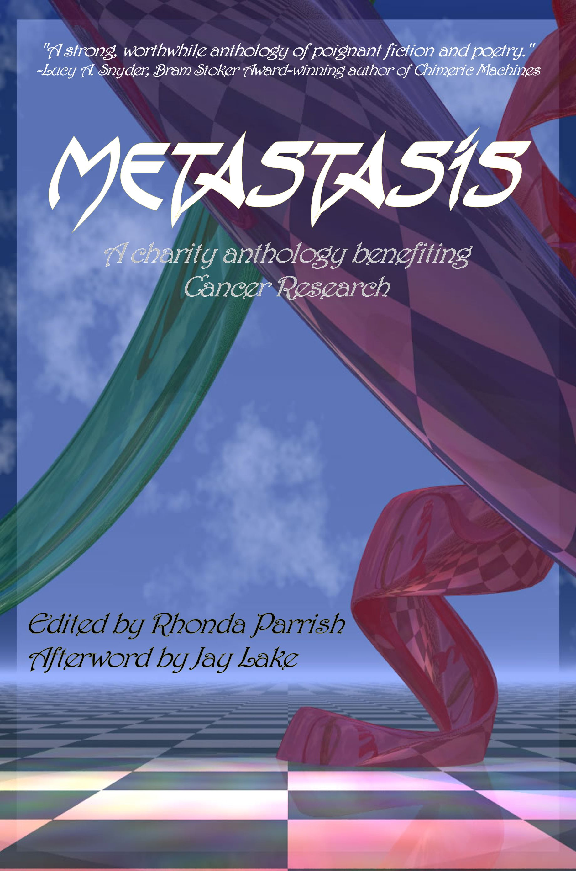 Metastasis Cover - artwork by Jonathan Parrish, Cover design by Carol Hightshoe