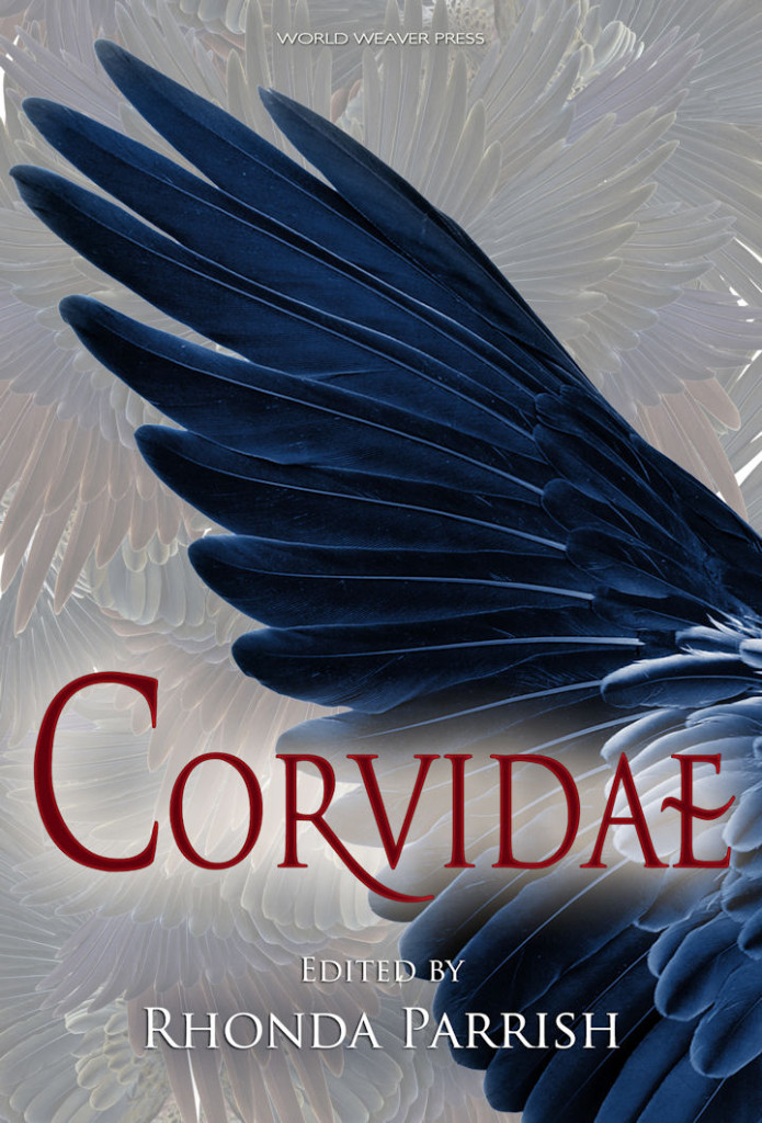 Cover for CORVIDAE. Design by Eileen Wiedbrauk